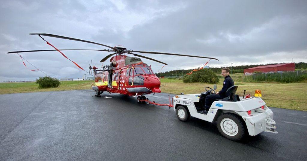 Samstarf Landhelgisgæslunnar og Air Greenland